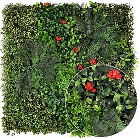 Gradina design din plante artificiale 1mp (100x100cm) V47