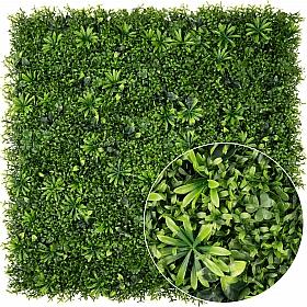 Gradina verticala din plante artificiale 1 mp (100x100cm) V55
