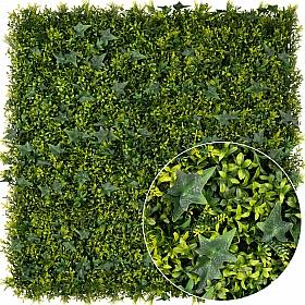 Gradina verticala din plante artificiale 1mp (100x100cm) V45