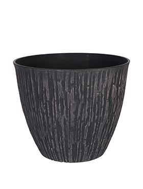 Indoor Pottery Caval 36x31 cm negru