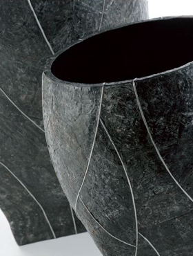 Indoor Pottery Helga 40x56 cm negru