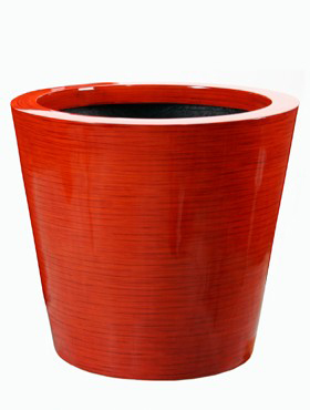 Krappa Partner bamboo 46x41 cm rosu