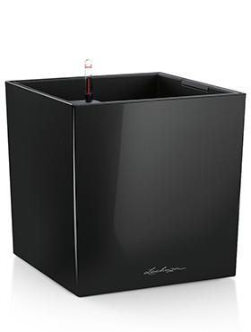 Lechuza Cube 40x40x40 cm negru cu sistem