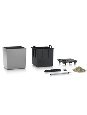 Lechuza Cube 50x50x50 cm argintiu cu sistem