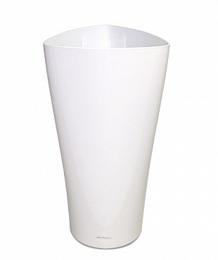 Lechuza Delta 40x40x75 cm fara sistem, alb lucios
