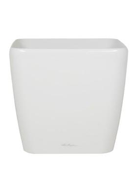 Lechuza Quadro 43x43x40 cm alb