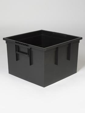 Liner hydro pentru ghiveci Lechuza Cubico 40x40x20 cm negru