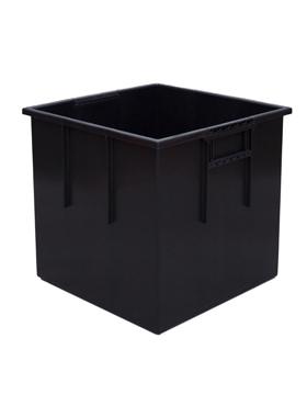 Liner interior/exterior pentru ghiveci Lechuza Cubico 40x40x36 cm negru