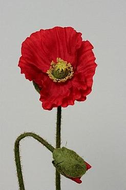 Mac 75 cm HO rosu Poppy