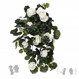 Plante artificiale cu flori muscata 70 cm alb for Plante 70 cm