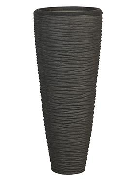 Polystone Partner Seaside 63x150 cm negru