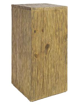 Postament din lemn de Pin 30x30x75 cm