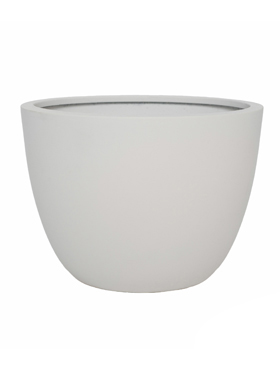 Pottery Leerdam M 24.5x18 cm alb