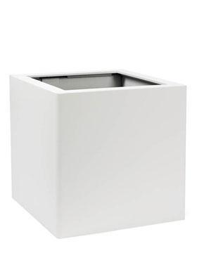 Prestige Kubus Topper 50x50x50 cm RAL structural alb