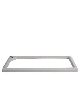 Rama pentru ghiveci Lechuza Cararo 75x30x43 cm alb