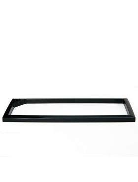 Rama pentru ghiveci Lechuza Cararo 75x30x43 cm negru