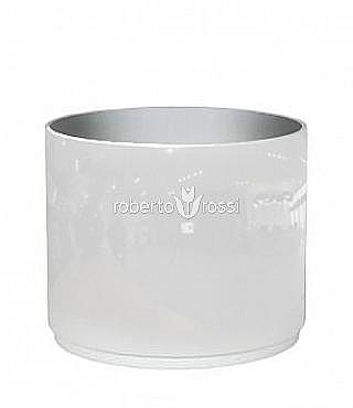 Round 30X23 cm alb alb
