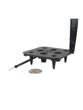 Sistem irigare pentru ghiveci Lechuza Quadro 50x50x47 cm