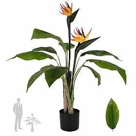 Strelitzia Reginae artificiala H90cm Pasarea paradisului - Floarea macara