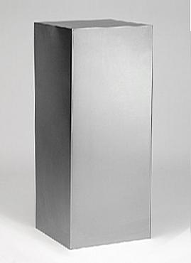 Superline Coloana 45x45x120 cm argintiu