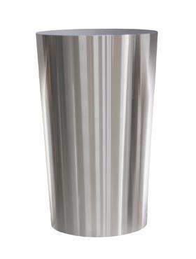 Superline Conica pe inel 60x135 cm argintiu argintiu