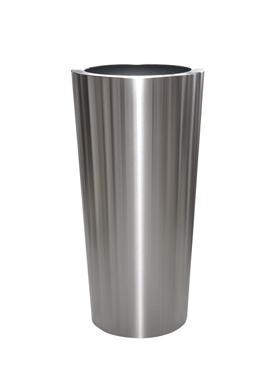 Superline Conica Topper pe inel 48x99 cm argintiu argintiu