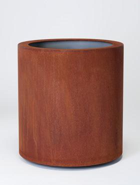 Superline Cortensteel Standard Topper pe inel 48x77 cm ruginiu