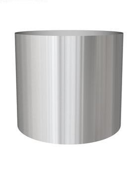 Superline Standard pe inel 110x102 cm argintiu argintiu