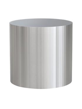 Superline Standard pe roti 40x40 cm argintiu