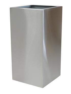 Superline Trend Topper pe inel 38x38x102 cm argintiu argintiu