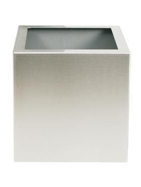 Superline Trend Topper pe roti 60x60x62 cm argintiu argintiu