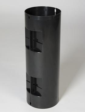 Suport sistem hydro pentru ghiveci Lechuza Rondo 40x75 cm negru