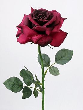 Trandafir Quiannie D14x6xH67 cm rosu