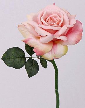 Trandafir Quiannie de luxe D15xH31 cm roz