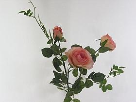Trandafir tros Alice D10x7x3xH85 cm HO roz