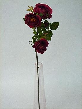 Trandafir tros Cabbage D9x7xH70 cm HO rosu