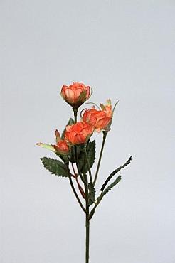 Trandafir tros D1,5x1xH30 cm HO portocaliu