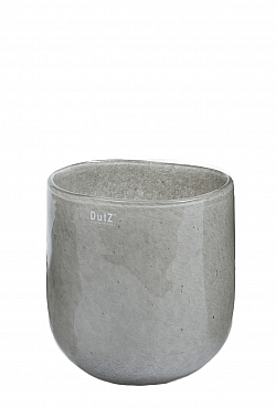 Vaza Ovall 11X15X16 cm gri