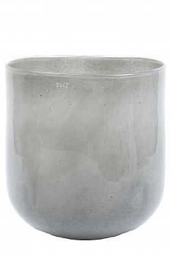 Vaza Ovall 19X25X27 cm gri