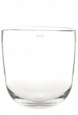 Vaza Ovall 20X27X27 cm transparent