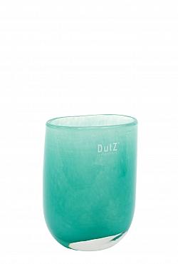 Vaza Ovall 7x11x14 cm verde jade