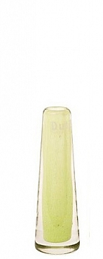 Vaza Solifleur 5x15 cm verde lime