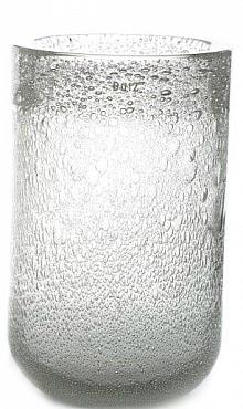 Vaza Thick bubble 22x40 cm transparent