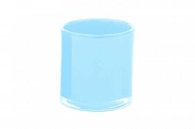 Vaza Votive 7x7 cm albastru aqua